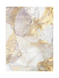 Art/wall Decor - Soft Shimmer No. 2 is a gold and silver painting created by Julia Contacessi in This is a series of work that explores the fluidity and reflective light . Wall Art Decor, Wall Art Prints, Gold Wall Decor, Art Graphique, Custom Art, Oeuvre D'art, Canvas Frame, Illustration, Abstract Art