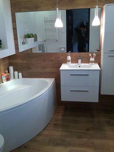 łazienka , biały , drewno