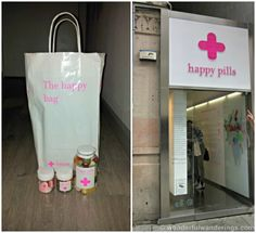Things to do in Barcelona - Happy Pills=ciutat vella- candy u put in medicine jars