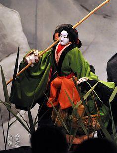Japanese Puppets Bunraku | Japanese traditional puppet theater, Bunraku 文楽