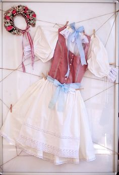 Folk costume from Malacky, Slovakia. Folk Costume, Traditional Outfits, Ethnic, Tulle, Ballet Skirt, Culture, Lace, Skirts, Clothes