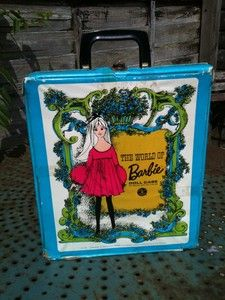 Vintage 1960s/1970s World Of Barbie Doll Case.