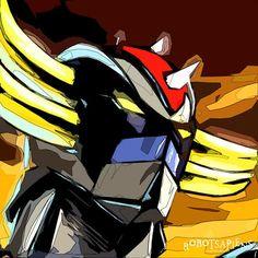 Japanese Cartoon, Japanese Toys, Japanese Art, Gundam, Ulysse 31, Robot Cartoon, Arte Robot, Superhero Villains, Pop Art Portraits