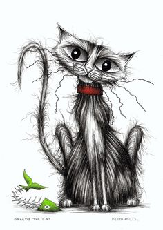 Greedy the cat by Keith Mills.