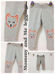 Mommy and Me outfits Mom and Baby matching leggings by COOLLeggings on Etsy