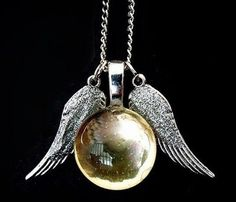 Golden Snitch Necklace Harry Potter