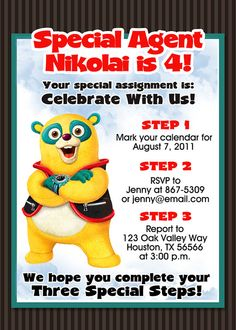 79 Best Special Agent Oso 1st Birthday