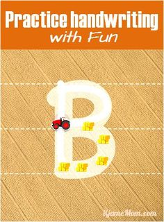 Free app helping kids learn letters, numbers and simple words, with many customizable features -- how fun it is to drive a little truck to write the letters! Learning Apps, Learning Tools, Kids Learning, Preschool Kindergarten, Toddler Preschool, Writing Skills, Hand Writing, Letter Writing, Learning Letters