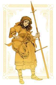 Coffee, stylus and pen — Daily Sketches Week 6 Female Character Design, Character Design Inspiration, Character Concept, Character Art, Concept Art, Dnd Characters, Fantasy Characters, Samurai, Fantasy Inspiration