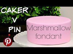 How to make LMF Fondant (marshmallow fondant) - YouTube