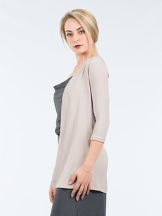 Upscale your looks with the help of this Lapel Sleeve jacket The jacket is cut to a slouchy fit that gives it a more relaxed feeling, Pair yours with. Blouse, Long Sleeve, Sleeves, Jackets, Tops, Women, Fashion, Down Jackets, Moda