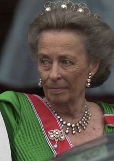 Princess Ragnhild with Boucheron Pearl Circle tiara, neclace and earrings from private collection and Brooch from the royal collection. Queen Of Sweden, The Royal Collection, Chaumet, Royal Jewelry, Royals, Queens, Pearl Necklace, Brooch, Princess