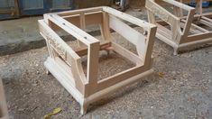 Furniture Upholstery, Furniture Design, Sofa Frame, Chesterfield Sofa, Living Room Sofa, Garden Bridge, Sofas, Frames, Outdoor Structures