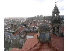 Vistas dende a terraza da Facultade de Xeografía e Historia