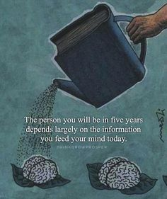 """Well said by @thinkgrowprosper: """"You are the books you read the movies you watch the music you listen to the people you spend time with the conversations you engage in. Choose wisely what you feed your mind. - When you are conscious about the kind of information you allow into your world it's only a matter of time before your reality reflects your improved quality of thought."""" - Follow @thinkgrowprosper for more inspiration. --- Photo  copyright owner by motivationmafia"""