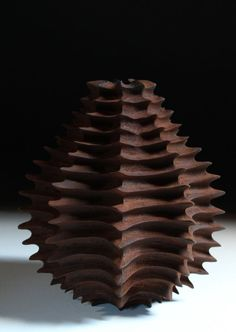 Sculpture by Marc Ricourt Contemporary Craft Design Sarah Myerscough Gallery Ceramic Clay, Ceramic Pottery, Pottery Art, Sculptures Céramiques, Wood Sculpture, Verre Design, Keramik Vase, Contemporary Ceramics, Ceramic Artists
