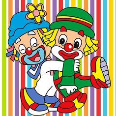 KIT FESTA PRONTA GRÁTIS PATATI PATATA - Cantinho do blog Layouts e Templates para Blogger Circus Theme, Circus Party, Send In The Clowns, Fun Fair, Bowser, Cross Stitch, Lily, Clip Art, Cartoon