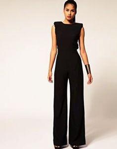 Black jumpsuit. Love it