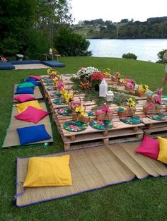 Garden Party Decorations, Garden Parties, Hippie Decorations, Wedding Decorations, Birthday Decorations, Wedding Ideas, Outdoor Parties, Decor Wedding, Budget Wedding