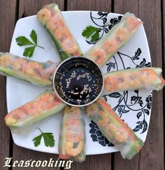 Lea's Cooking: Shrimp Rice Paper Rolls