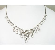 Austria Crystal Necklace would work with a black formal gown.