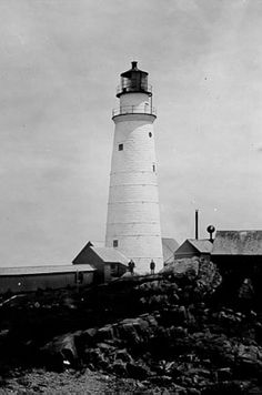 The first lighthouse established in America was on Little Brewster Island in Boston Harbor and was first lit September 14, 1716