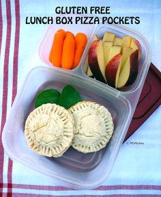 Gluten Free Mini Pizza Pockets - MOMables® - Healthy School Lunch Ideas