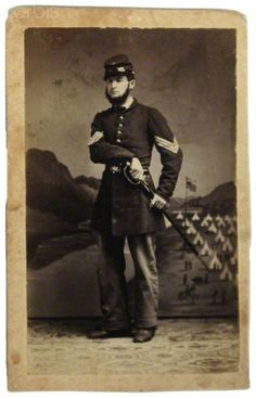 United States Civil War, Union Army,A sergeant of infantry