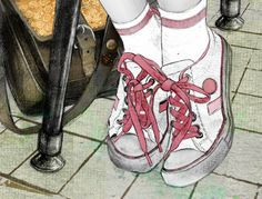 Shoelaces in the classroom...
