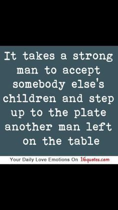 I know this is probably directed towards step fathers, but this describes what Uncle David did for me, Cindy and Jimmy. Love you Uncle David! Happy Fathers Day!!