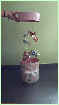 argent papillons blanc Pk 4 Dîner Serviette avec rose