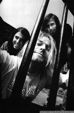 Pictures of Kurt Cobain Looking Happy