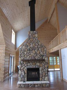 wood burning fireplaces with blower - Google Search