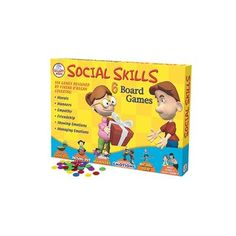 Social Skills Board Games; 6 Gameboards; Ages « Delay Gifts