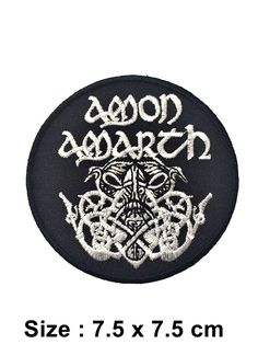 Heavy Metal Rock Punk Retro Music Band Sew Iron On Embroidered Patch Applique in Crafts, Sewing, Embelishments & Finishes, Patches | eBay