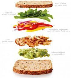 Menő szenyók: 30 egészséges & tápláló szendvics