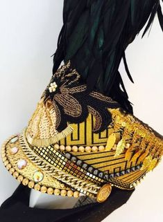 Hat art fashion costumes 55+ Ideas #fashion #hat Festival Gear, Festival Fashion, Festival Style, Carnival Costumes, Diy Costumes, Costume Ideas, Burning Man Fashion, Dress Out, Belly Dance Costumes