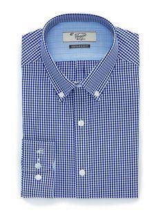 $43 CHECKED DRESS SHIRT Slim Fit Dress Shirts, Shirt Dress, Penguin Logo, Work Shirts, Classic Looks, Dapper, Work Wear, Long Sleeve Shirts, The Originals