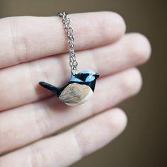 little wren totem necklace from le animalé