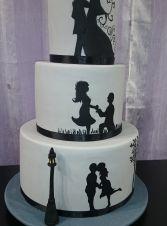 Esküvői torta 648