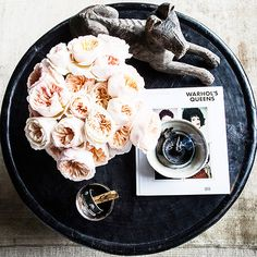 clearing up your coffee table clutter.   sfgirlbybay   Bloglovin'