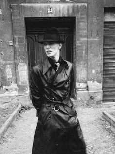 Bowie Leather going to the Berghain