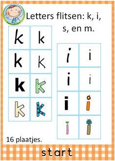 Spellepakket start. Mooi pakket met 12 verschillende spelletjes. Leuk te gebruiken in groep 3 bij VLL kim versie. Letters flitsen.