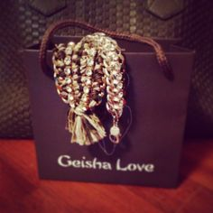 A bag full of happiness - Geisha Love handmade bracelets