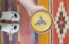 The Turmeric Latte You Need To Try | Alo Yoga Edible Lavender, Madagascar Vanilla Beans, Vital Proteins, Collagen Powder, Cashew Milk, Golden Milk, Intuitive Eating, Simple Rules, How To Do Yoga