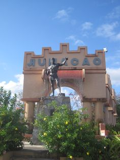 Statue of the indian cacique Jumacao