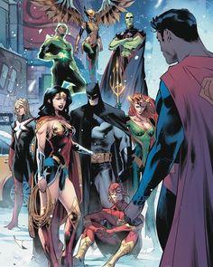 By @jorge_jimenez_art and @alejandro_sanchez_colorist Credit to Marvel Comics, Arte Dc Comics, Dc Comics Superheroes, Dc Comics Characters, Dc Comic Books, Comic Book Artists, Comic Art, Univers Dc, Detective Comics