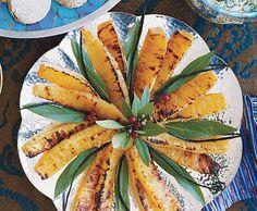 Vanilla-Poached Pineapple
