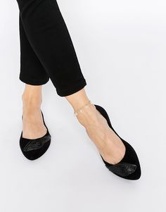Mel by Melissa Dreaming Wing Point Flat Shoes