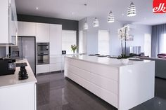 MODERN Archives | Easylife Kitchens Built In Cupboards, Life Kitchen, Kitchen Products, Storage Design, Home Reno, Apartment Living, Kitchens, Vanity, House Design